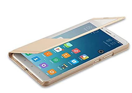 brand new bf413 b4ea3 SmartLike Flip Cover for Vivo Y55L 1603 Gold: Amazon.in: Electronics
