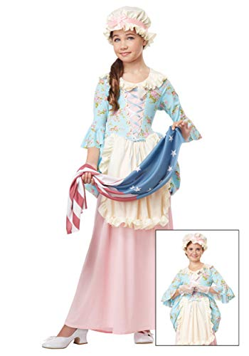 Big Girls' Colonial Lady Costume - S]()