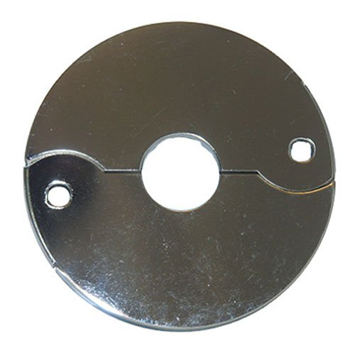 LASCO 03-1561 Chrome Plated Floor and Ceiling Split Flange Fits 1-1/2-Inch Iron Pipe ()