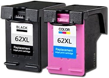 Pack Cartuchos Tinta Compatible para HP 62 XL Negro y Tricolor 18ml T102: Amazon.es: Electrónica