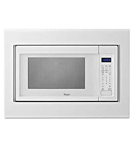"KitchenAid Whirlpool 30"" White Built-In Microwave Oven"