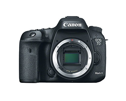 Canon EOS 7D Mark II Digital SLR Camera (Body Only) (Best Full Frame Dslr For Sports Photography)
