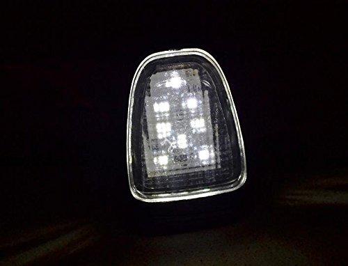 4 x 8 LED c/ôt/é toit arri/ère Marqueur dangle LED Blanc 24 V pour camion Actros Axor Camion