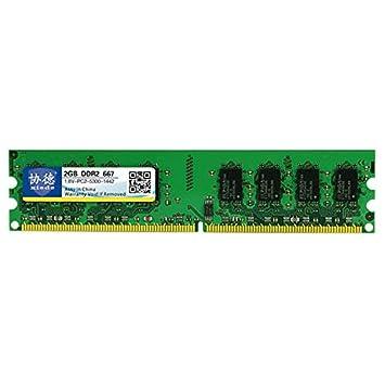 Lufuqiang Tarjeta de Memoria X011 DDR2 a 667 MHz 2 GB Generales de ...