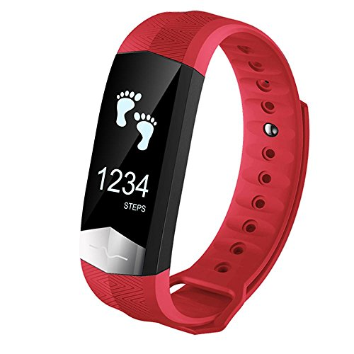 Pawaca Waterproof Fitness Tracker Blood Pressure Monitor ECG