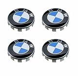 SET OF 4 BMW GENUINE for BMW blue Wheel Center Cap Hub Cap 36136783536