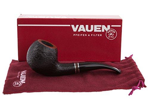 Vauen Francesco 4942N Sandblast Tobacco Pipe by Vauen