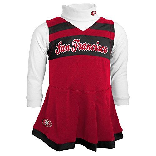 49ers baby cheerleader dress - 3