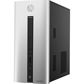 2016 HP Pavilion 550 Desktop, AMD Quad-Core A8-6410 Accelerated Processor with AMD Radeon R5 graphics, 8GB Memory, 1TB Hard Drive, DVD RW, WiFi, Bluetooth, Windows 10 (Certified Refurbished)