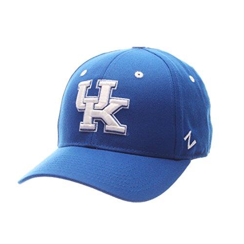 (ZHATS NCAA Kentucky Wildcats Men's DH Fitted Cap, Royal, Size 7 1/8)