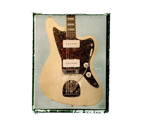 Noel Gallagher Jazzmaster.Amazon Com Fender Jazzmaster White Guitar Art Music Print