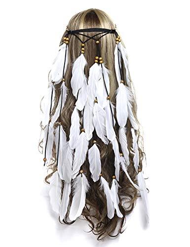 umsif Bohemian Hairband for Women Girls Sunflower