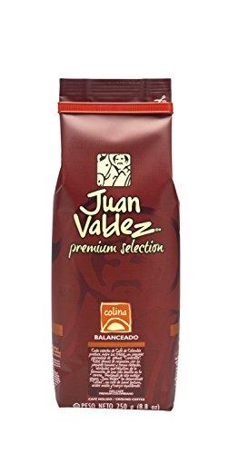 Juan Valdez Premium Balanced Colombian Coffee, Colina Ground, 8.8 oz