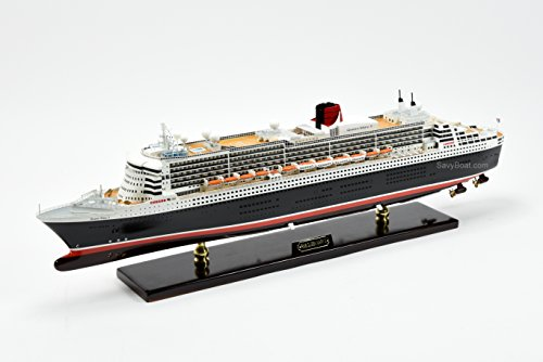 RMS Queen Mary 2 Cunard Line Ocean Liner Handmade Ship Model 34