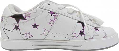 Osiris Skateboard Schuhe Serve Girls White/Berry/Stars