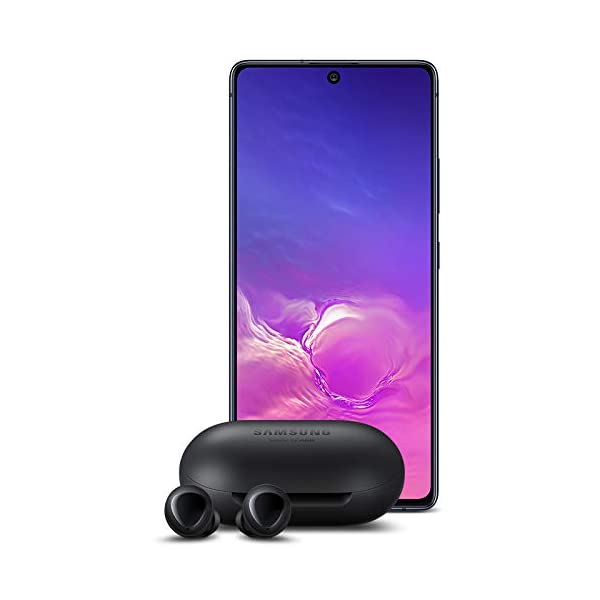 Samsung-Galaxy-S10-Lite-with-Samsung-Galaxy-Buds-Bluetooth-True-Wireless-Earbuds-Wireless-Charging-Case-Included-Black-US-Version-with-Warranty
