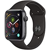 Apple Watch Series 4 (GPS, 44mm) - Space Gray Aluminium Case with Black Sport Band