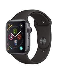 Apple Watch Series 4 Reloj Inteligente Gris OLED GPS (satélite) - Relojes Inteligentes (OLED, Pantalla táctil, GPS (satélite), 18 h, 36.7 g, Gris)