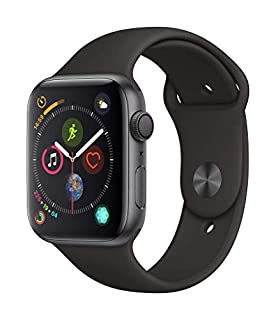 Apple Watch Series 4 (GPS, 44mm) - Space Gray Aluminium Case with Black Sport Band (B07K3HLMTF) | Amazon price tracker / tracking, Amazon price history charts, Amazon price watches, Amazon price drop alerts