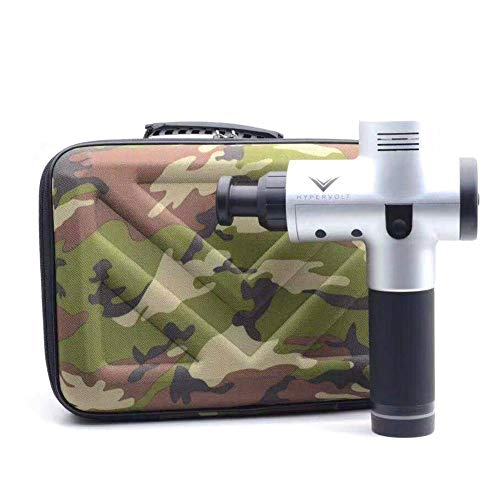(Roche.Z Storage Box Portable Carrying Case for Hypervolt Hard Protective EAV Waterproof Scratch Resistant Shockproof Accessories for Hyperice Hypervolt Massage Tool EVA Case - Black)