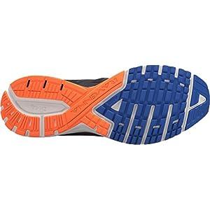 Brooks Men's Ravenna 9 Ebony/Blue/Orange 11 EE US