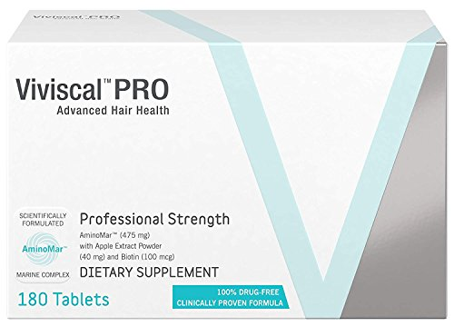 professional strength hair growth supplement 180 tablets