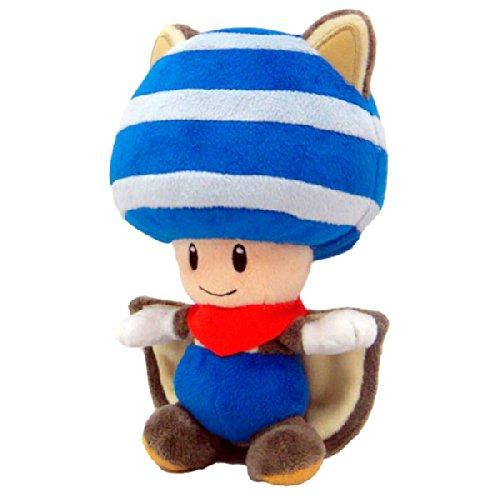 Amazon.com: Together - Peluche - Super Mario - Toad Ecureuil volant Bleu - 20 cm - 3700789290124: Toys & Games