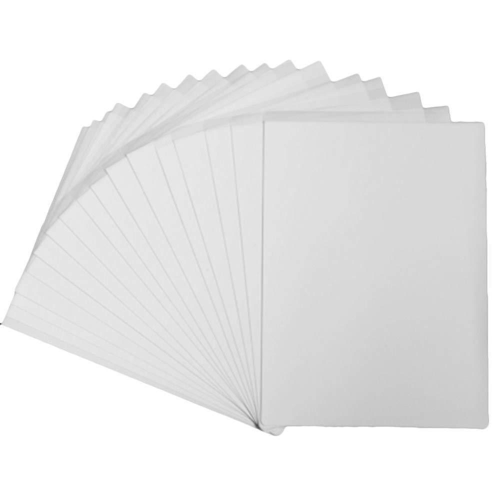 Carta per trasferimento a sublimazione 21,6 x 27,9 cm formato A4 100 fogli per stampa a getto dinchiostro