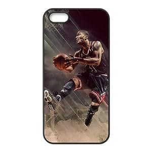 Diy Derrick Rose iPhone 4 4s Cell Phone Case Black NRI5109788