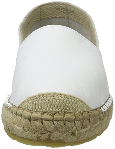 SELECTED FEMME Damen Sfmarley New Leather Espadrilles Weiß (White)