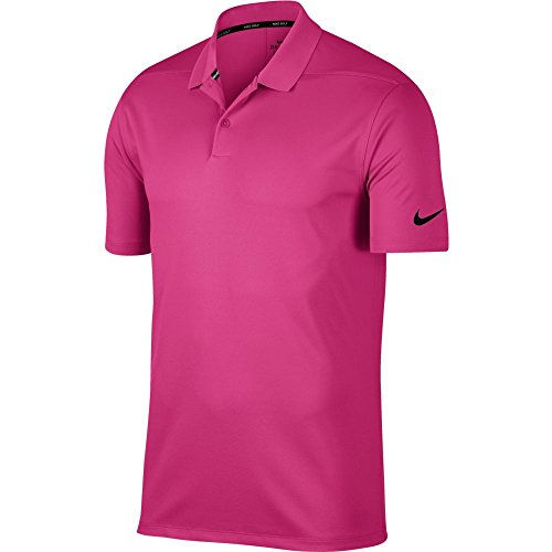 (Nike Dry Victory Solid Men's Golf Polo (Vivid Pink, X-Large))