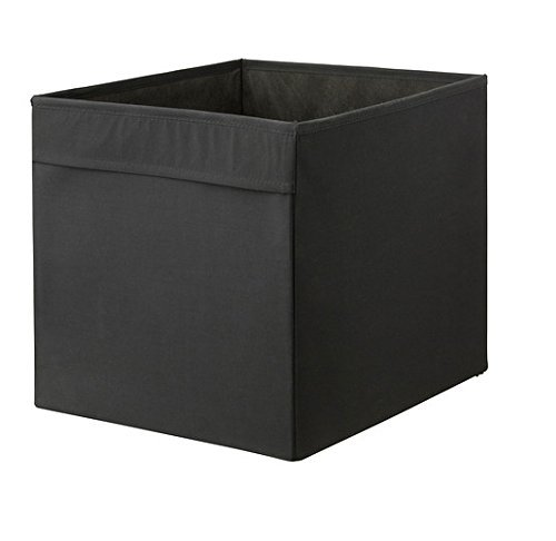 Ikea Foldable Storage Box, Black (Recycle Storage)