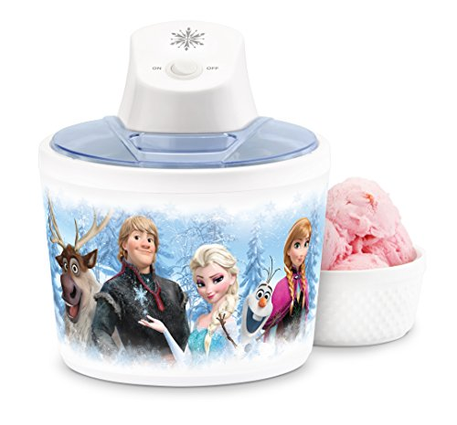 Disney DFR-14 Frozen Ice Cream Maker, White
