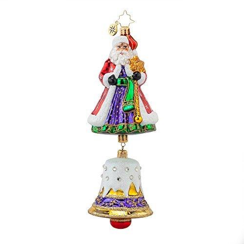 Christopher Radko Bell Chime Nicholas Christmas Ornament
