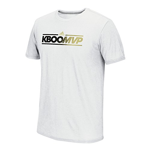 Adidas K Boom Dassler S/Performance tee, Blanco, Pequeño