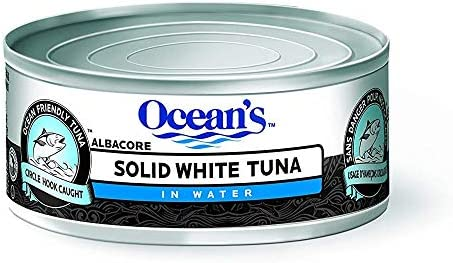 Ocean's Seafood Solid Albacore Tuna in Water - 24-Count