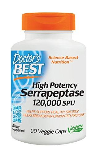 Doctors Best Potency Serrapeptase Units