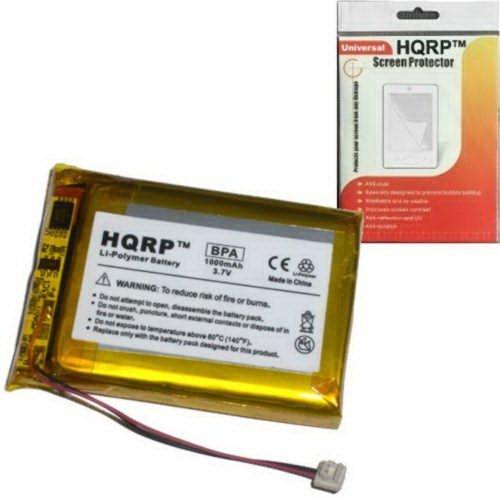 HQRP 1000mAh Li-Polymer Rechargeable Internal Replacement...
