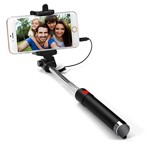 53 off g cord selfie stick handheld wired monopod fit for iphone 7 7 plus se 6s 6 6 plus. Black Bedroom Furniture Sets. Home Design Ideas
