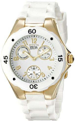 Invicta Women's 18796 Angel Analog Display Japanese Quartz White Watch