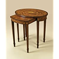 Maitland Smith Model#3230-725 Federal Style Mahogany Nesting Tables ~ New