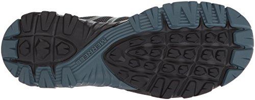 Womens Breathable Merrell Shoes Flex Walking Ladies Negro MQM Hybrid Mesh IUwqCwd