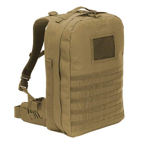 VooDoo Tactical 15-0148007000 Deluxe Professional Special Ops Field Medical Pack Lite, Coyote