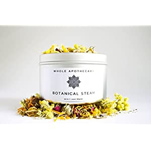 Whole Apothecary All Natural Organic Skin Care: Certified Organic Botanical Blends Hydrator + Facial Steam to Detoxify your Face for Sensitive Skin