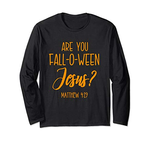 Christian Halloween Shirt Jesus Church Cross Bible Verse