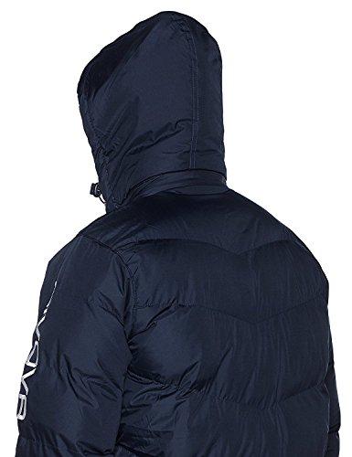 Marchio Givova - Modello Jacket Giubbotto Podio con cappuccio removibile / Home Shop Italia (BLU/BIANCO, 3XL)
