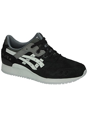 Black Lyte Asics 8 Leather Trainers III Running Gel Shoes Mens qTPfHq7x
