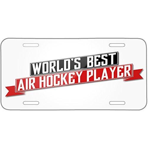 Ap1 Ram - Worlds Best Air Hockey Player Metal License Plate 6X12 Inch