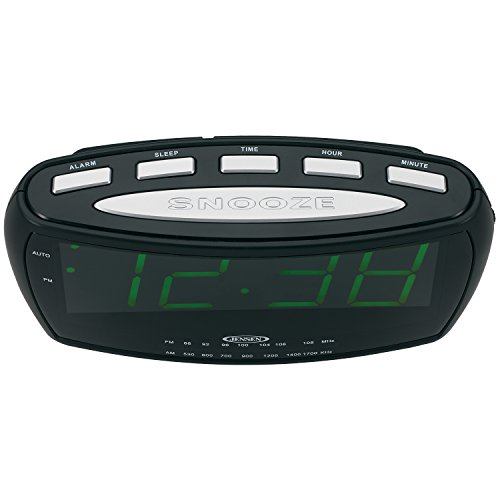 jensen jcr 208a am fm alarm clock radio with 1 8 inch green led display 11street malaysia. Black Bedroom Furniture Sets. Home Design Ideas