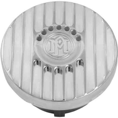 Performance Machine Grill Chrome LED Fuel Indicator Gas Cap
